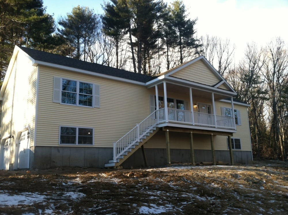 Raised ranch with porch in blackstone ma yelp for Prefab homes ma