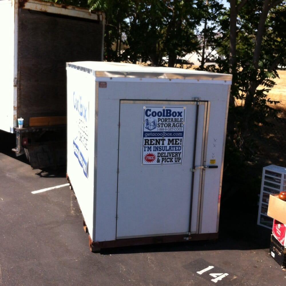 Cool Box Portable Storage Self Storage Santa Clara Ca