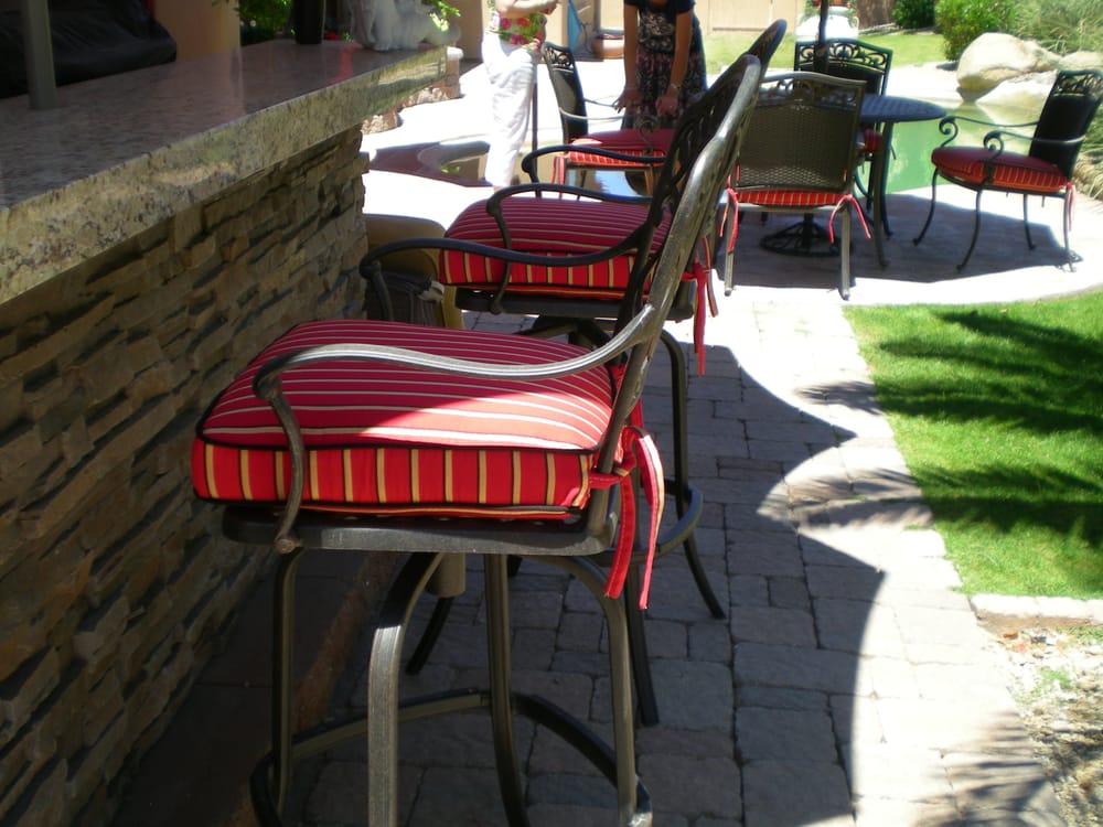 Striped Bar Stool Cushions Yelp