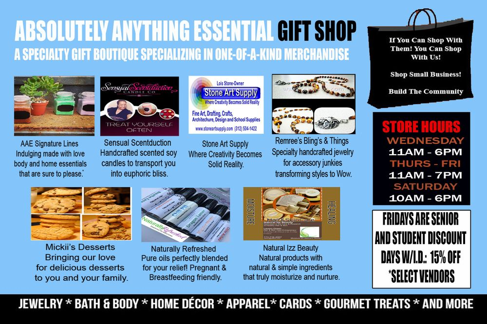Absolutely Anything Essential Gift Shop