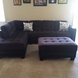 Photo Of ABC Furniture   Waipahu, HI, United States. Sectional And Ottoman  Set