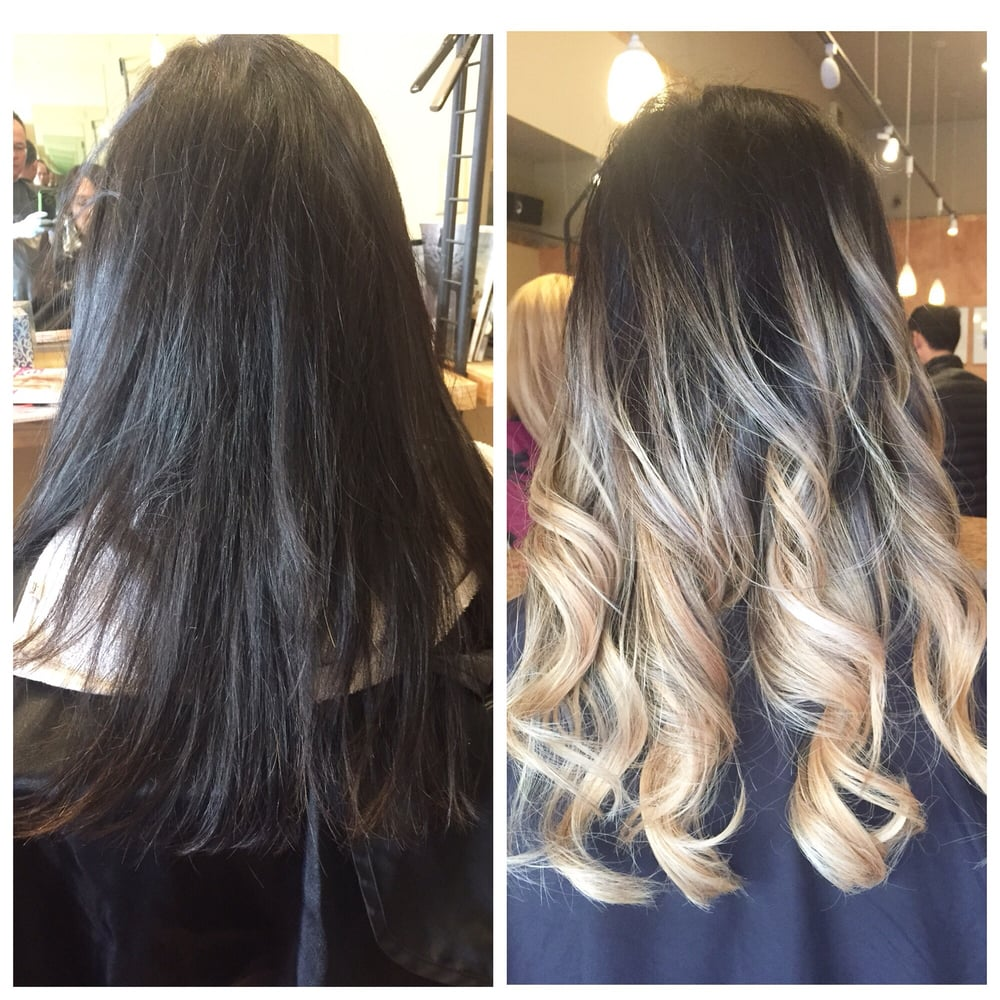 Gary Transformed Hair From Virgin Hair To Ash Blonde Balayage Ombre