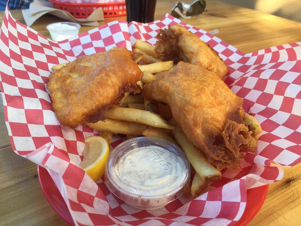 Halibut fish n chips yelp for Portland fish market