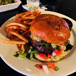 Photo Of Smokin Fins Chandler Az United States Lobster Mushroom Burger With