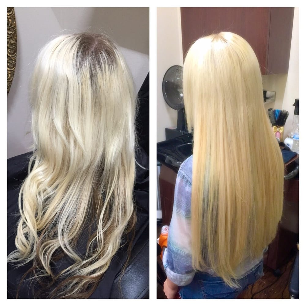 Before And After Removal Of Hot Fusion Extensions And Install Of 22