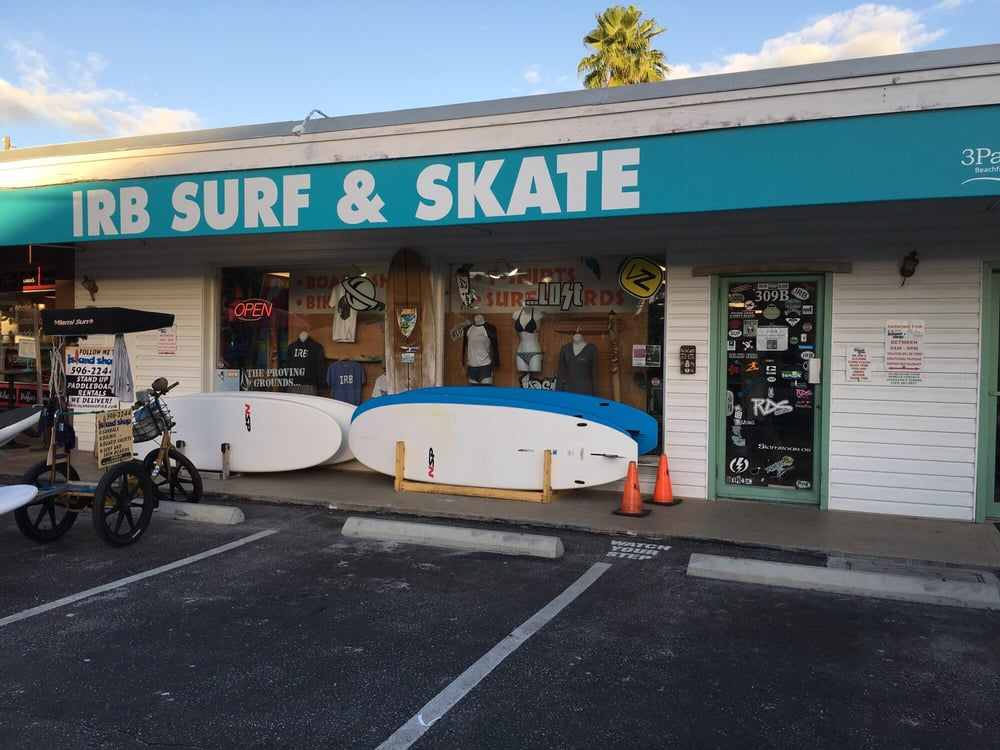 Island Surf Shop: 309 Gulf Blvd, Indian Rocks Beach, FL