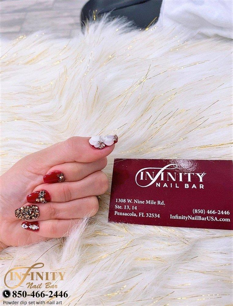 Infinity Nail Bar: 1308 W Nine Mile Rd, Pensacola, FL