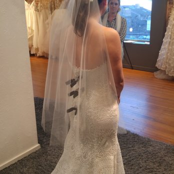 Photo Of Anna Be Bridal Boutique Denver Co United States Trying On