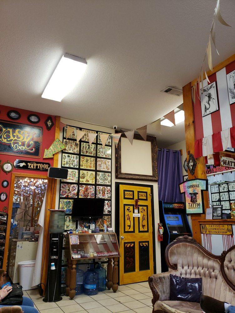 Carnivale Tattoo: 1888 Beach Blvd, Biloxi, MS