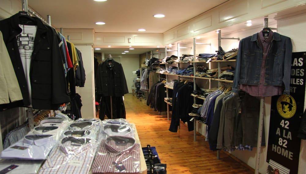 0ebabdad7 Tienda de ropa para hombre en tallas grandes