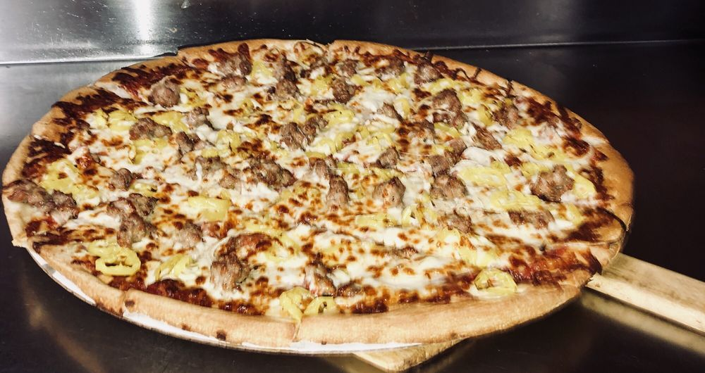 Food from Vermont Inn Pizza