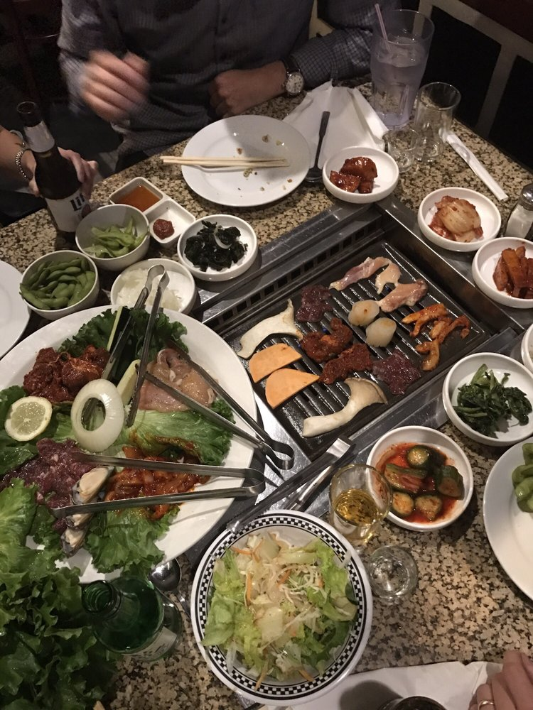 Special combo gui and bulgogi good for 4 people yelp for Korea garden restaurant houston tx