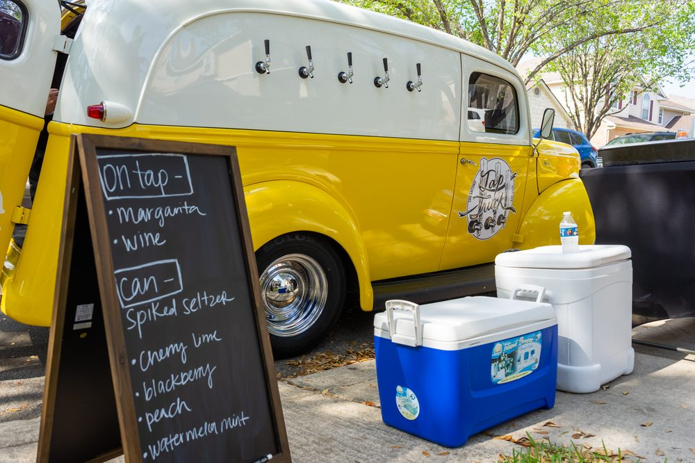 Tap Truck San Antonio: Marion, TX