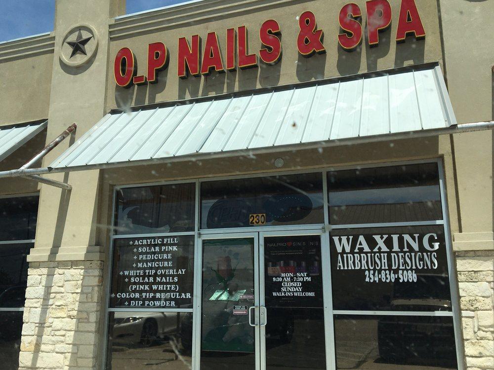 O.P Nails & Spa: 10207 China Spring Rd, Waco, TX