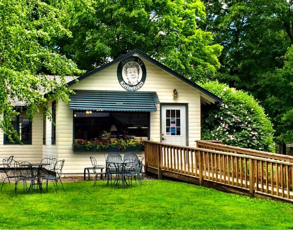 Auntie M's Kaffeehaus: 25039 Tame Fish Lake Rd, Deerwood, MN