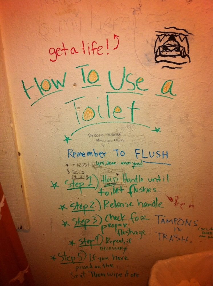 Bathroom Wall Writing writing on bathroom stall wall - yelp