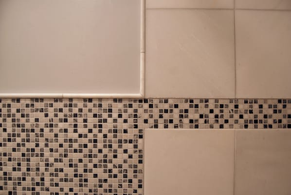 Bathroom Wall Tile Design Detail Mosaic Marble Tiles And