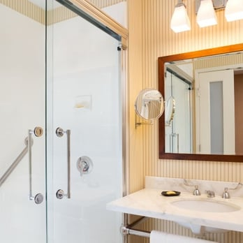 Traditional Guest Room Bathroom - Yelp