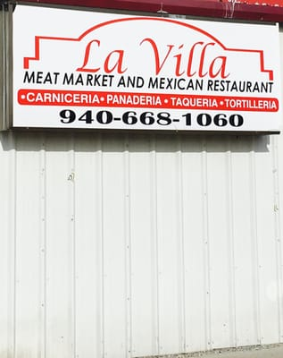 La Villa Meat Market Mexican Restaurant Mexican 3415 E Hwy 82