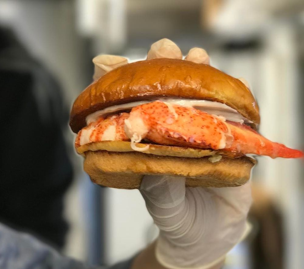 Food from The Happy Lobster Truck