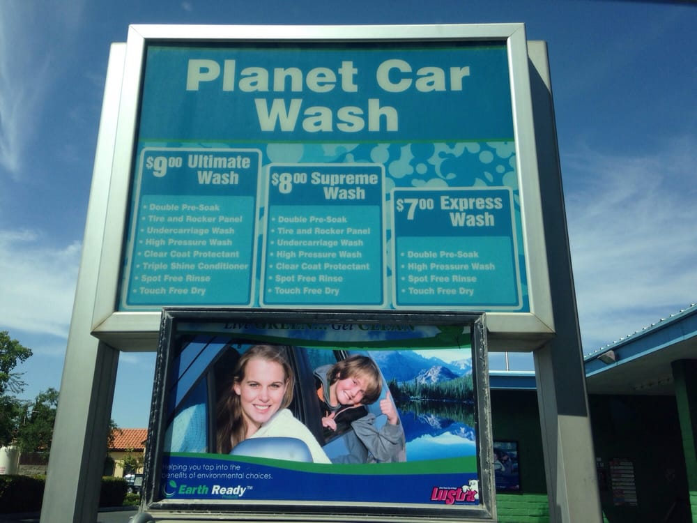 Planet Car Wash Davis Ca