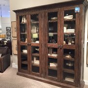 Fabric Is Clearing Pulling Photo Of Bassett Furniture   Raleigh, NC, United  States. Very Well Made Cabinet