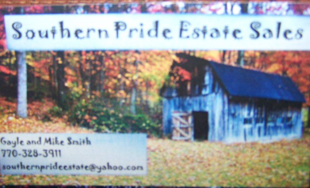 Southern Pride Estate Sales: Senoia, GA