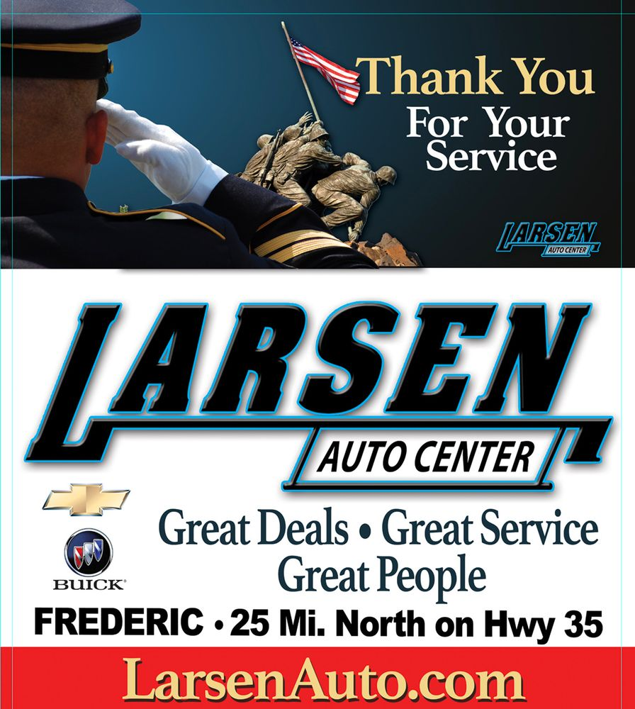 Larsen Auto Center: 1105 Wisconsin Ave S, Frederic, WI