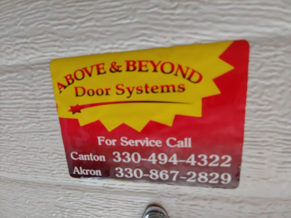 Above & Beyond Door Systems: 9066 Humberside Ave NW, North Canton, OH