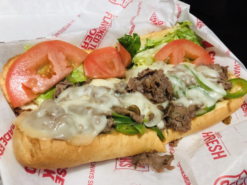 Charleys Philly Steaks: 2138 E Florence Ave, Huntington Park, CA