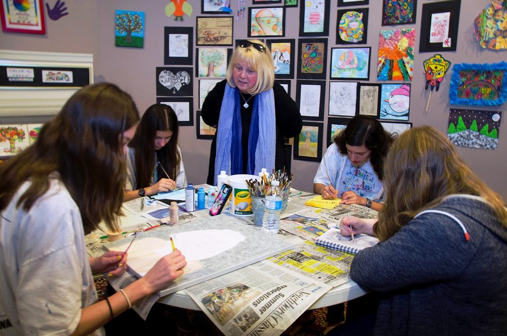 Photo of Arts in Bartlett Center for the Arts - Bartlett, IL, United States. Color My World Art Academy. Art for K-12.