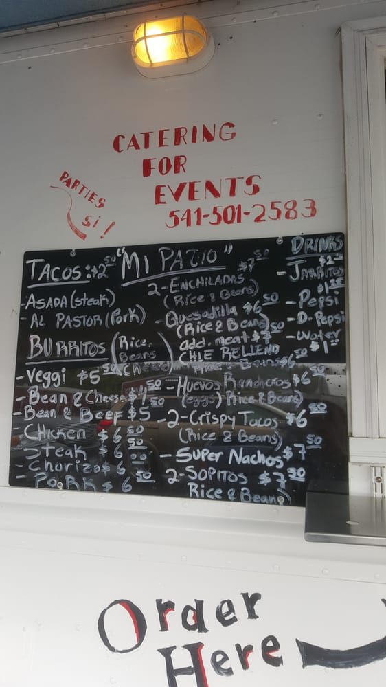 Photo Of Mi Patio   Eugene, OR, United States. Menu As Of April