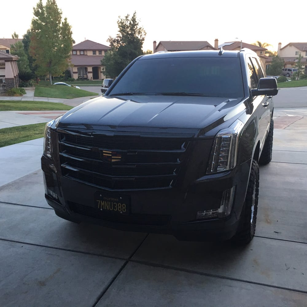 2016 Escalade Blacked Out All Chrome Shiny Black
