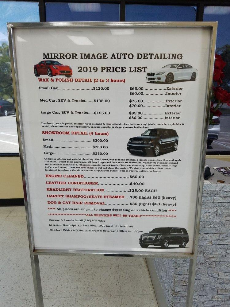 Mirror Image Auto Detailing Auto Detailing 611 Harmon Dr
