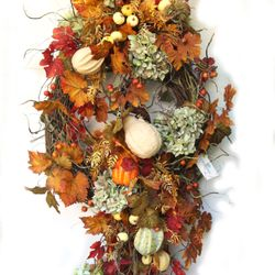 Photo of Celebrations - Pensacola, FL, United States. Lush Fall Wreath.