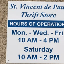 St Vincent Food Pantry Hours