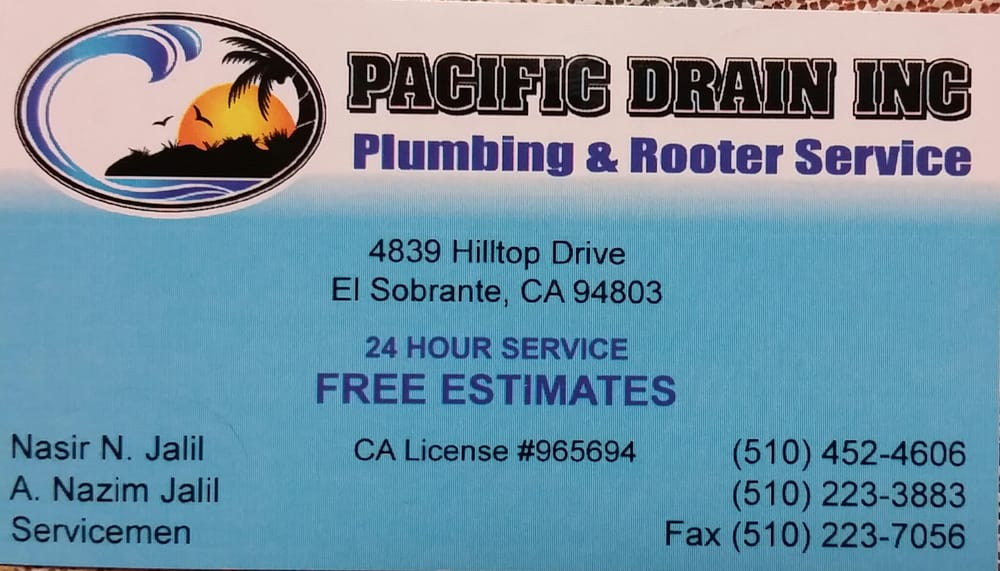 Photo of Pacific Drain & Rooter Service - El Sobrante, CA, United States
