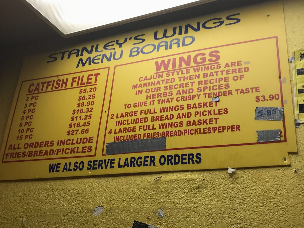 Stanley's Catfish Inn: 3146 Cedar Crest Blvd, Dallas, TX