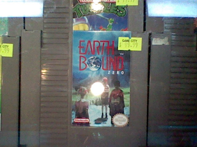 Bootleg copy of Earthbound Zero selling for $99 (ouch ouch