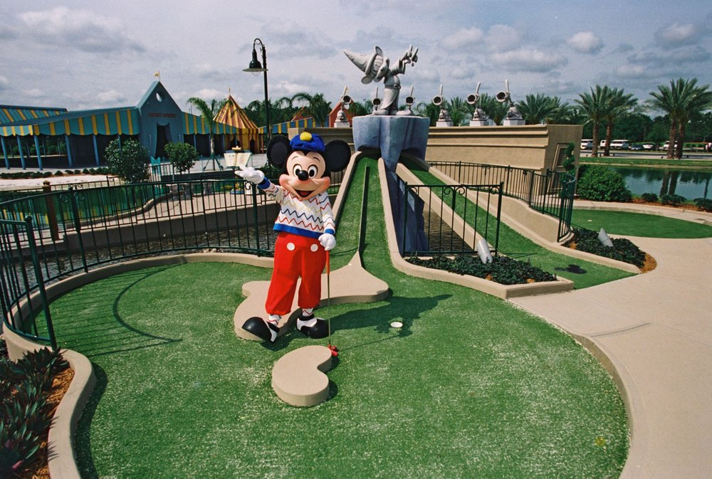Disney's Fantasia Gardens Miniature Golf Course: 1205 Epcot Resorts Blvd, Orlando, FL