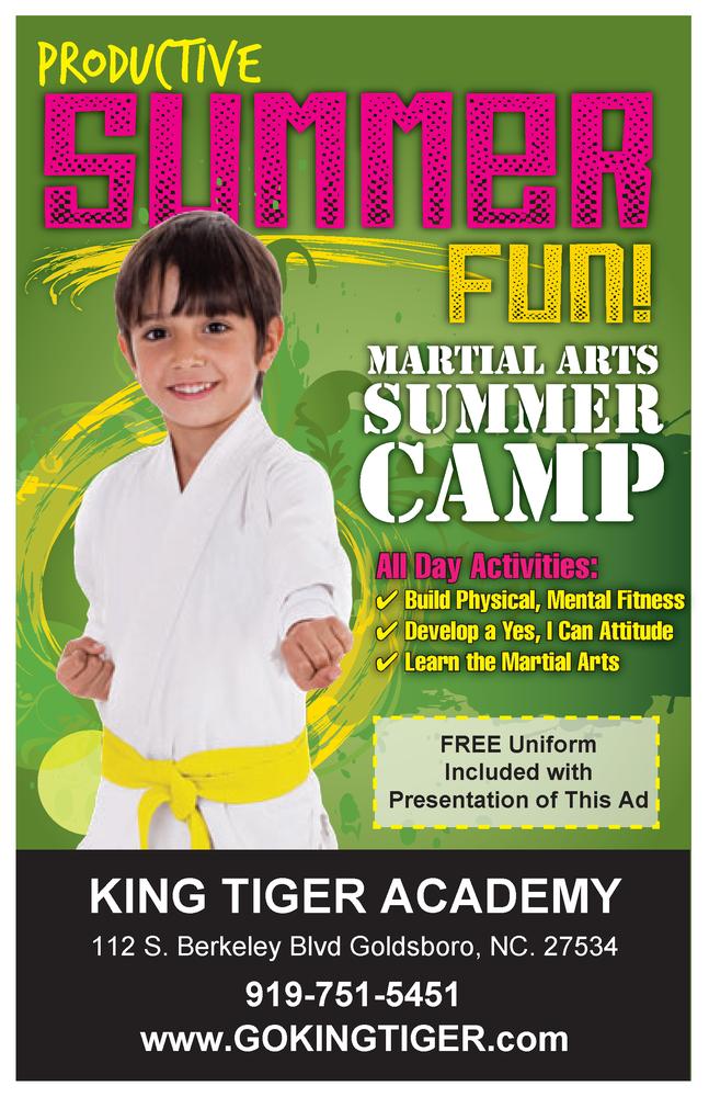 King Tiger Tae Kwon Do: 112 S Berkeley Blvd, Goldsboro, NC