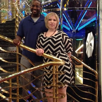 Photo Of Carnival Cruise Lines   Port Canaveral, FL, United States.  Staircase