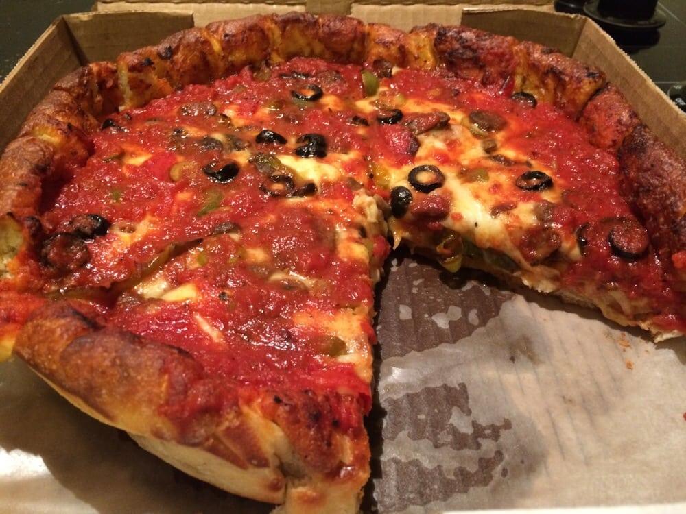 "#29: The ""Edgar Allan Poe"" at Dewey's Pizza | Food Blog |Pizza Allen"