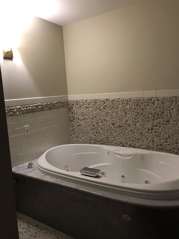 Private bath in the massage therapy room. - Yelp