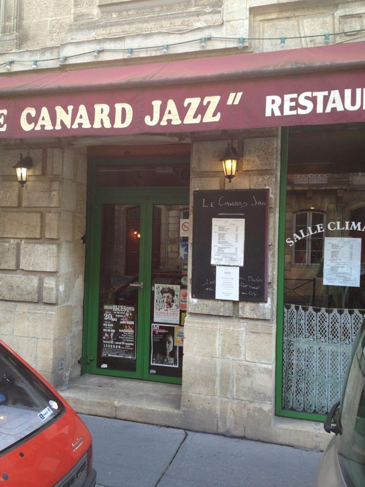 le canard jazz cucina francese sud ovest 9 cours de la martinique chartrons grand parc. Black Bedroom Furniture Sets. Home Design Ideas