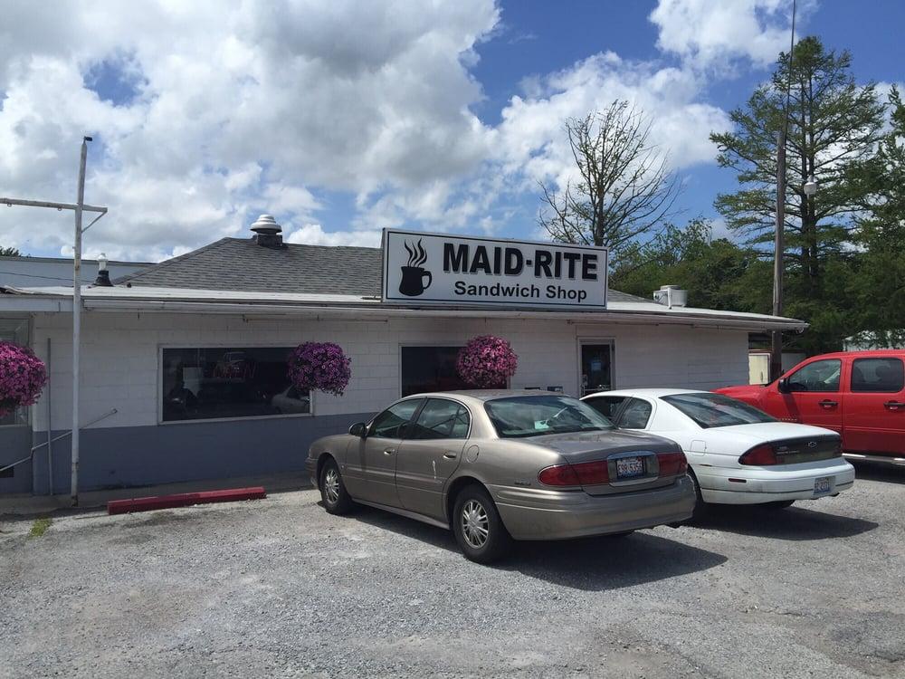 Maid-Rite Sandwich Shop: 103 W Sylvia Ave, Christopher, IL