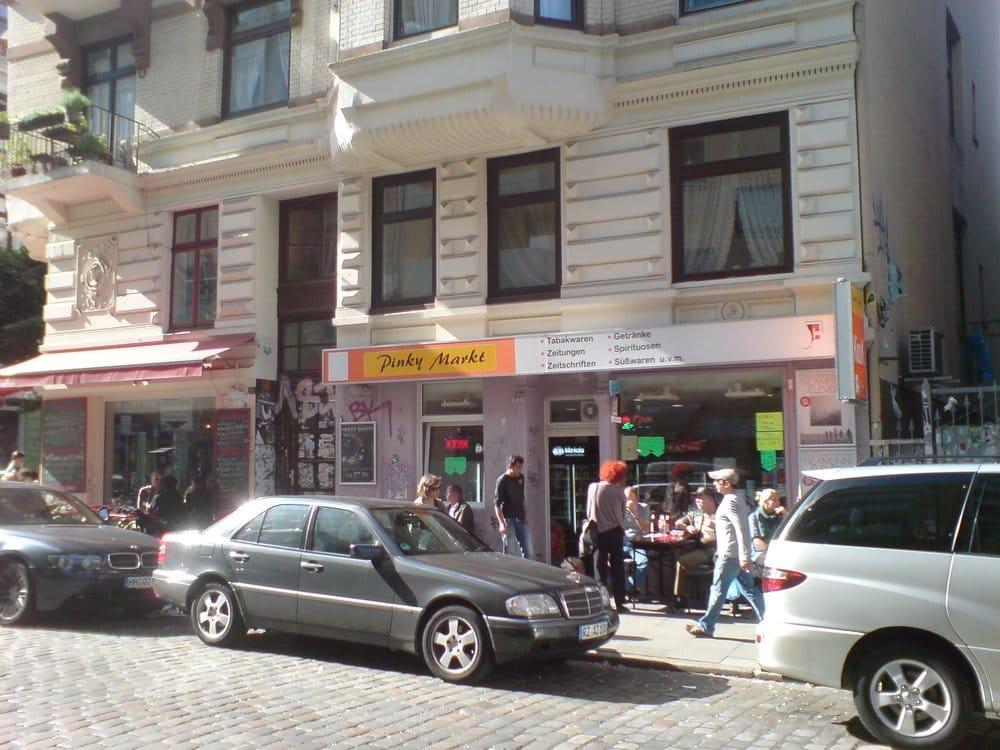 Pinky Markt Kiosque Susannenstr 36 Sternschanze