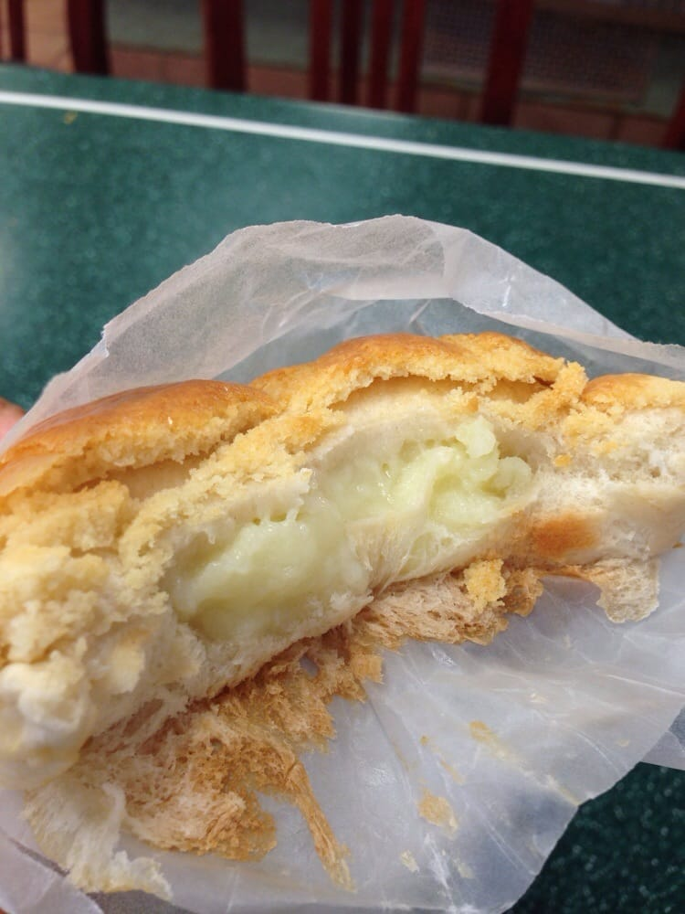 eldo cake house this texture chewy custard filled pineapple bun 3846