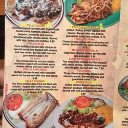 Photo Of El Primo Duncan Sc United States Menu 7
