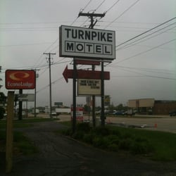 Photo Of Turnpike Motel Elkhart In United States Sign